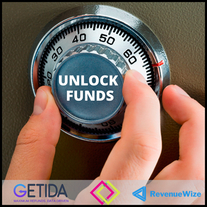 unlock Amazon funds with Getida and RevenueWize